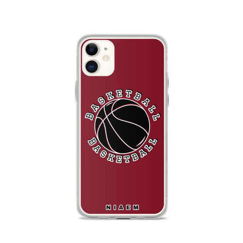 Basketball iPhone Case (Red 2)
