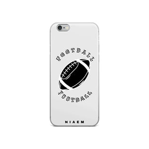 Football iPhone Case (Grey 3)