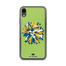Load image into Gallery viewer, Cheerleader iPhone Case (Green 3)