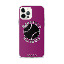 Load image into Gallery viewer, Baseball iPhone Case (Pink 6)