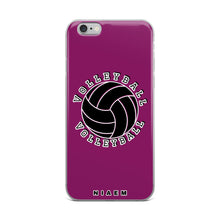 Load image into Gallery viewer, Volleyball iPhone Case (Pink 6)