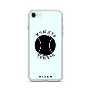 Tennis iPhone Case (Blue 5)