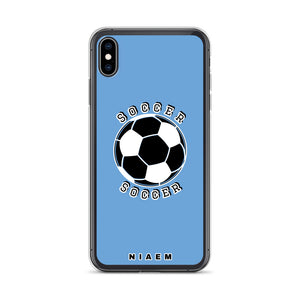 Soccer iPhone Case (Blue 1)
