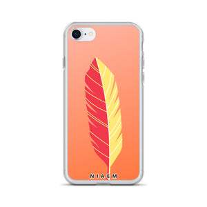 Faded Orange iPhone Case