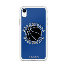 Load image into Gallery viewer, Basketball iPhone Case (Blue 2)