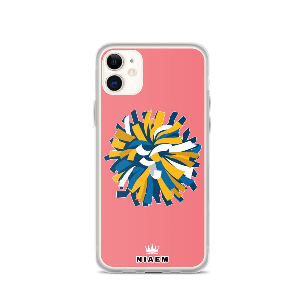 Cheerleader iPhone Case (Pink 2)
