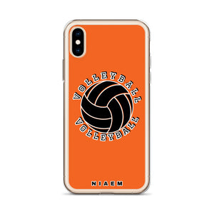 Volleyball iPhone Case (Orange)