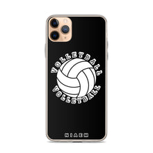 Load image into Gallery viewer, Volleyball iPhone Case (Black)
