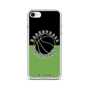 Basketball iPhone Case (Black & Green)