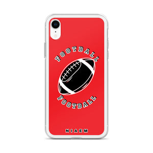 Football iPhone Case (Red)