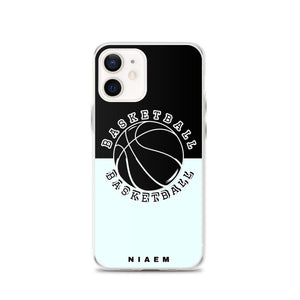 Basketball iPhone Case (Black & Blue 5)