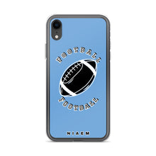 Load image into Gallery viewer, Football iPhone Case (Blue)