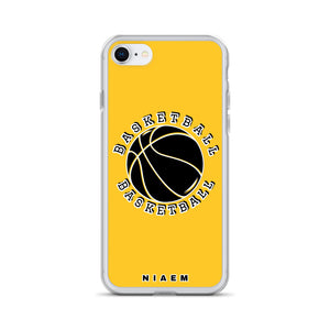 Basketball iPhone Case (Yellow)
