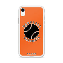 Load image into Gallery viewer, Baseball iPhone Case (Orange)