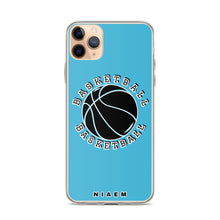 Load image into Gallery viewer, Basketball iPhone Case (Blue 7)