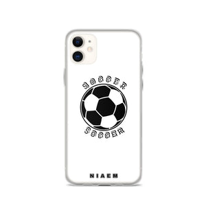 Soccer iPhone Case (White)
