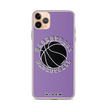 Load image into Gallery viewer, Basketball iPhone Case (Purple 1)