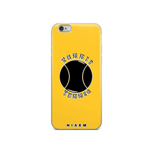 Tennis iPhone Case (Yellow)