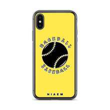 Load image into Gallery viewer, Baseball iPhone Case (Yellow)