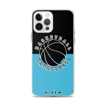 Load image into Gallery viewer, Basketball iPhone Case (Black & Blue 7)