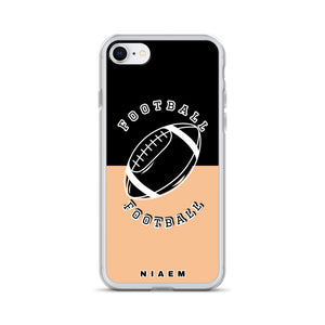 Football iPhone Case (Black & Nude 1)