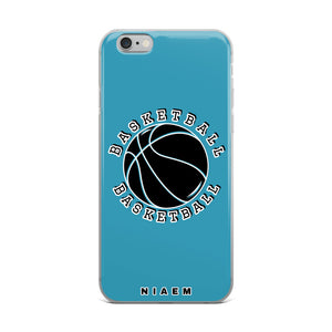 Basketball iPhone Case (Blue)