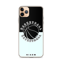 Load image into Gallery viewer, Basketball iPhone Case (Black & Blue 5)
