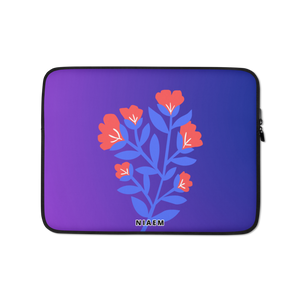 Purple Blue Gradient MacBook Laptop Sleeve