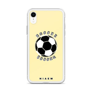 Soccer iPhone Case (Yellow 2)