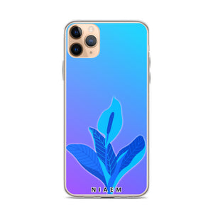 Violet Blue iPhone Case 2