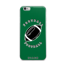 Load image into Gallery viewer, Football iPhone Case (Green 1)