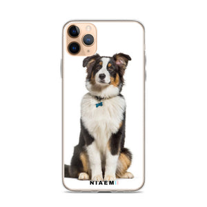 Australian Shepherd Dog breed iPhone Case I