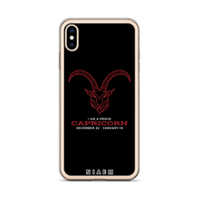 Load image into Gallery viewer, Capricorn iPhone Case
