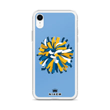 Load image into Gallery viewer, Cheerleader iPhone Case (Blue 1)