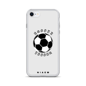 Soccer iPhone Case (Grey 3)