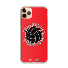 Load image into Gallery viewer, Volleyball iPhone Case (Red)