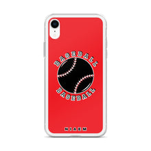 Load image into Gallery viewer, Baseball iPhone Case (Red)