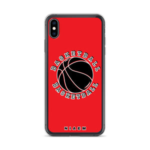 Basketball iPhone Case (Red 1)