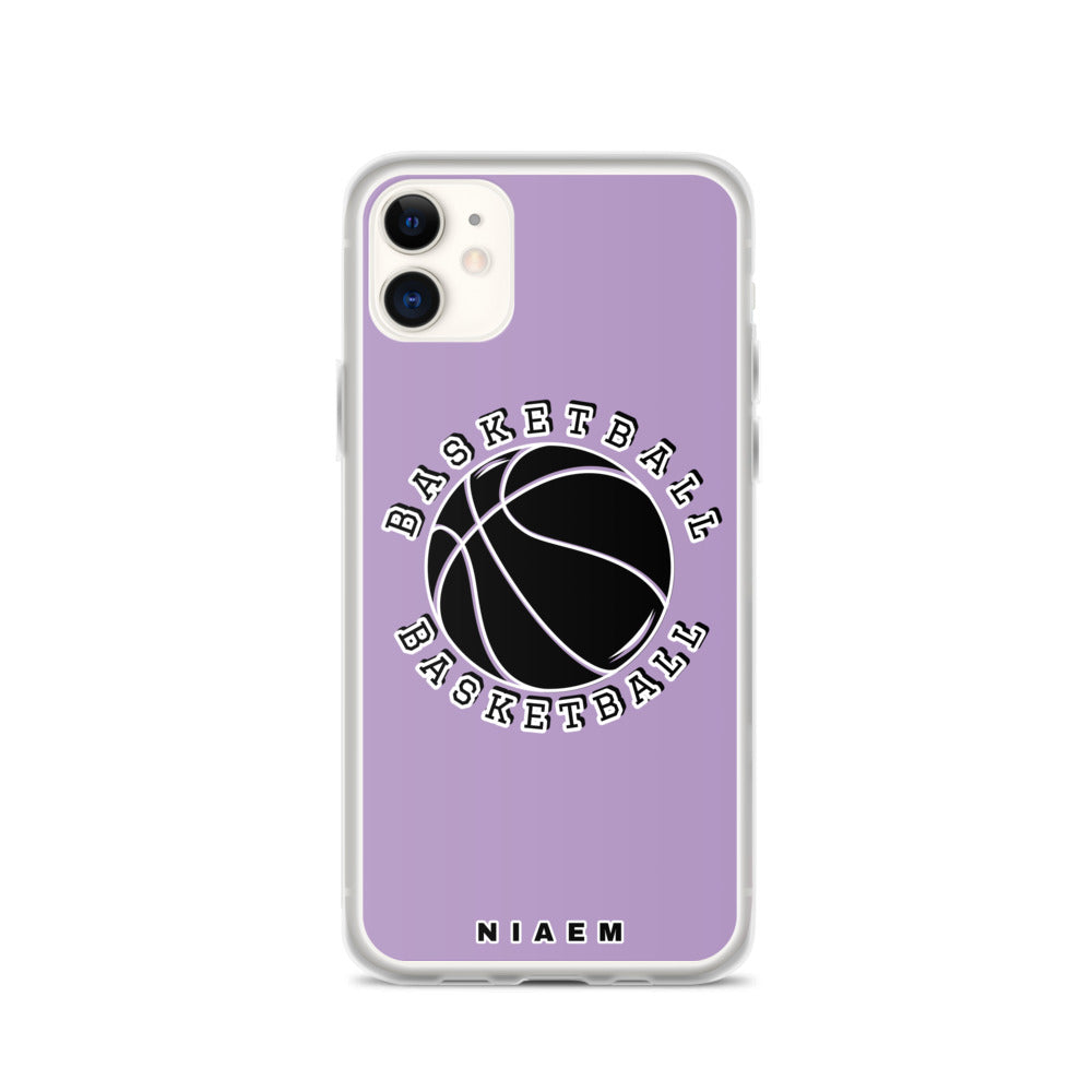 Basketball iPhone Case (Purple 2)
