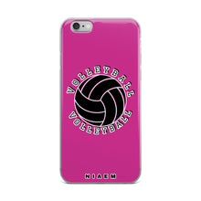 Load image into Gallery viewer, Volleyball iPhone Case (Pink)