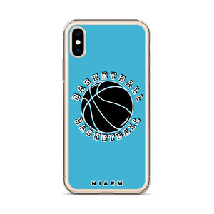 Basketball iPhone Case (Blue 7)