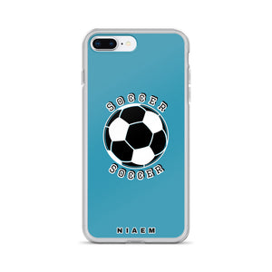 Soccer iPhone Case (Blue)