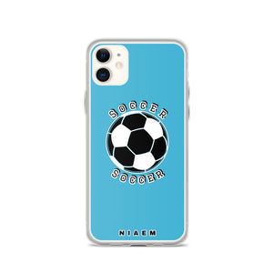 Soccer iPhone Case (Blue 7)