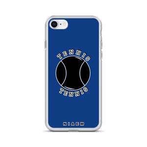 Tennis iPhone Case (Blue 2)