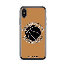 Load image into Gallery viewer, Basketball iPhone Case (Nude)