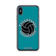 Load image into Gallery viewer, Volleyball iPhone Case (Blue 3)