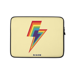 Colorful Lightning Laptop Sleeve I
