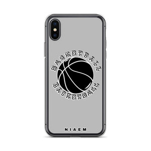Basketball iPhone Case (Grey 2)