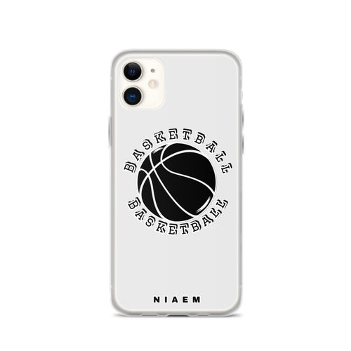Basketball iPhone Case (Grey 3)