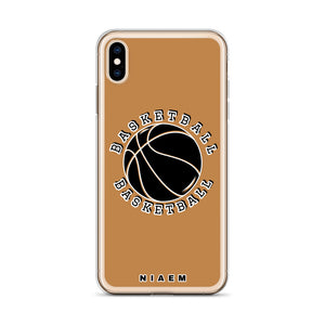 Basketball iPhone Case (Nude)